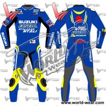 Alex Rins Suzuki 2018 Ecstar Motogp Leather Racing Suit