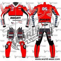 Andrea Dovizioso Ducati 2018 MotoGP Leather Racing Suit