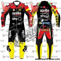 Andrea Iannone Aprilia Motogp 2019 Leather Racing Suit