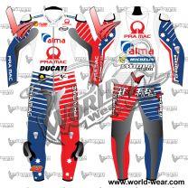 Francesco Bagnaia Ducati Motogp 2019 Racing Leather Suit