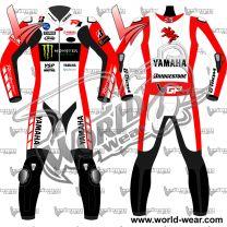 Michael van der Mark 2018 Yamaha Motogp Leather Race Suit