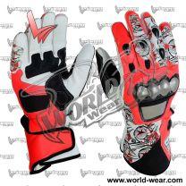Nicky Hayden Motogp Motorcycle Racing Leathers Gloves