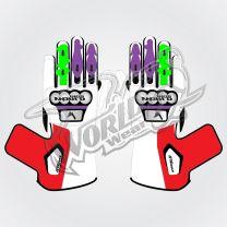 Tech Pro 16 Motorbike Leather Race Gloves