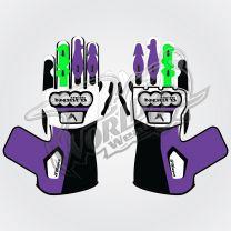 Tech Pro 20 Motorbike Leather Race Gloves