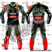 Tom Sykes Kawasaki 2018 Motogp Motorcycle Leather Racing Suit