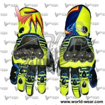 Valentino Rossi 2016 Leather Racing Gloves