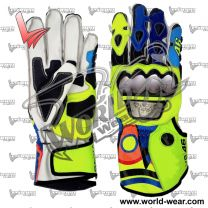 Valentino Rossi 2017 Motorbike Leather Gloves