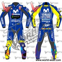 Valentino Rossi Yamaha 2018 Motogp Motorcycle Leather Racing Suit
