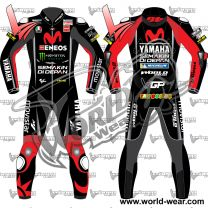 Valentino Rossi Yamaha 2018 Red Motogp Leather Racing Suit