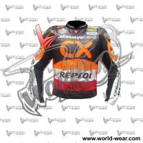 Marquez CX Repsol Motogp Leather Racing Jacket