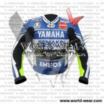 Yamah Eneos Monster Energy Motocycle Leather Racing Jacket