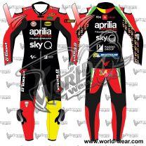 Aleix Epargaro Aprilia 2019 Motogp Leather Racing Suit
