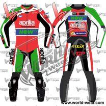 Aleix Espargaro Aprilia Motogp 2017 Motorbike Leather Racing Suit
