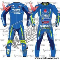Andrea Iannone Motogp Suzuki 2017 Leather Racing Suit