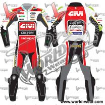 Cal Crutchlow lcr Honda Motogp 2017 Leather Racing Suit