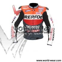 Honda Repsol One Heart Motorbike-leather racing Jacket
