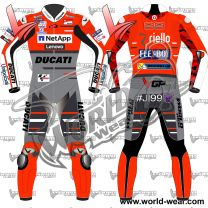 Jorge Lorenzo Ducati 2018 Flexbox MotoGP Leather Race Suit