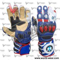 Leon Haslam BMW Motorrad Motogp Motorcycle Leather Gloves