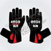 Tech Pro 13 Motorbike Leather Race Gloves