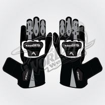 Tech Pro 17 Motorbike Leather Race Gloves