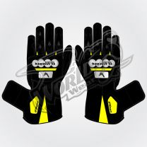 Tech Pro 19 Motorbike Leather Race Gloves