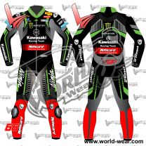 Tom Sykes Kawasaki 2018 Motogp Motorcycle Leather Racing Suit