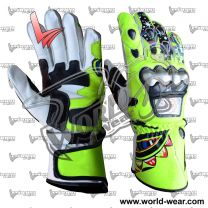 Valentino Rossi 2009 Motorcycle Racing Leather Gloves