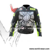 Valentino Rossi 2013 VR 46 Motorbike Leather Racing jacket