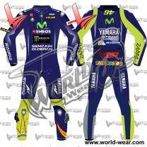 Valentino Rossi 2017 Motogp Leather Racing Suit