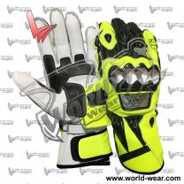 Valentino Rossi 2018 Leather Racing Gloves