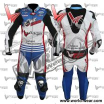 Zone Pouge Motogp World Wear Motorcycle Leather Racing Suit